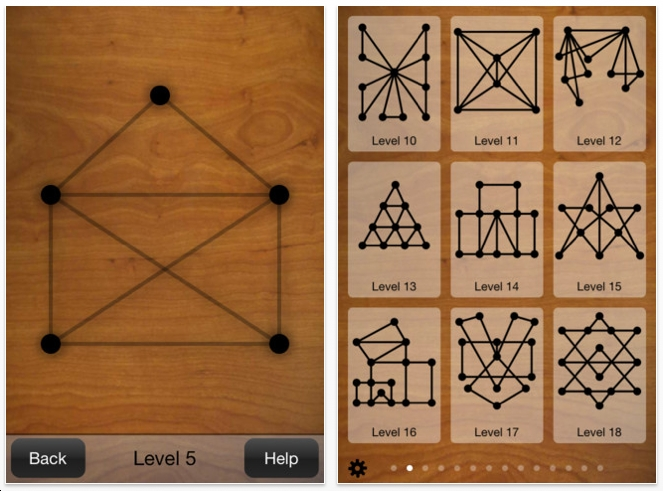 Drawing Lines Without Lifting Pen : The best iphone ipad puzzle apps and mechanical puzzles