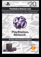 Código cartão PSN 20 dólares