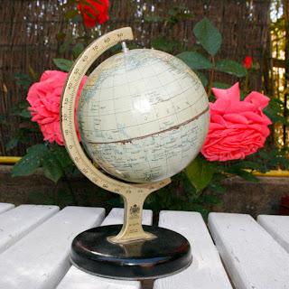 Globe terrestre - Mappemonde des années 50 - Chad Valley Co.