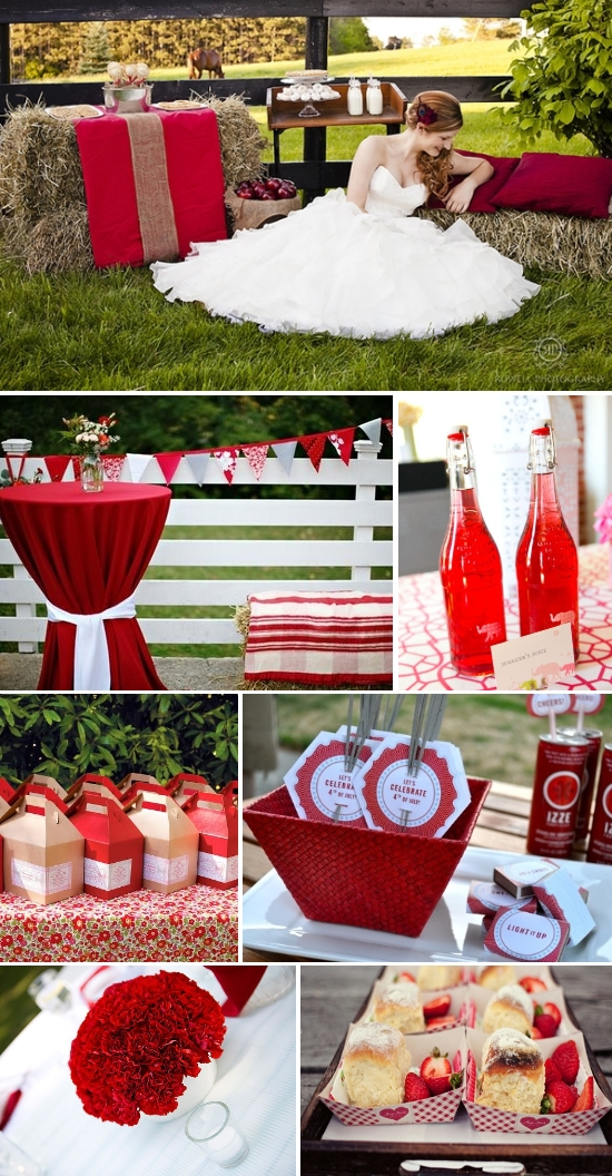 Picnic Wedding Inspiration Board