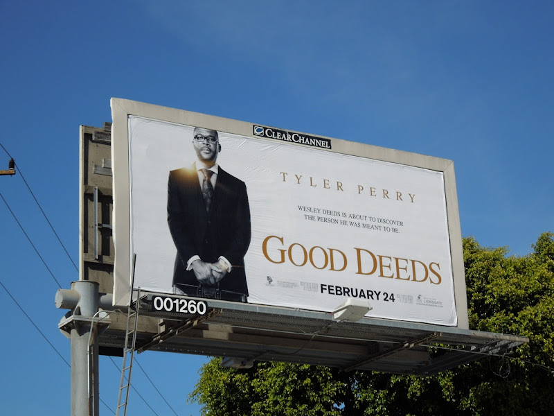 Good Deeds movie billboard