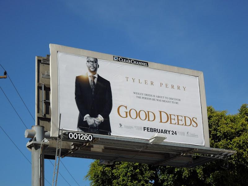 Good Deeds movie billboard