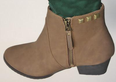 Tutorial botines con tachuelas / Studded boots DIY/ Tutoriel bottines cloutées