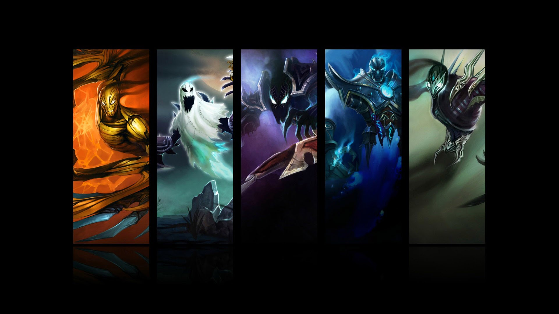 Nocturne All Skin LoL 0d Wallpaper HD