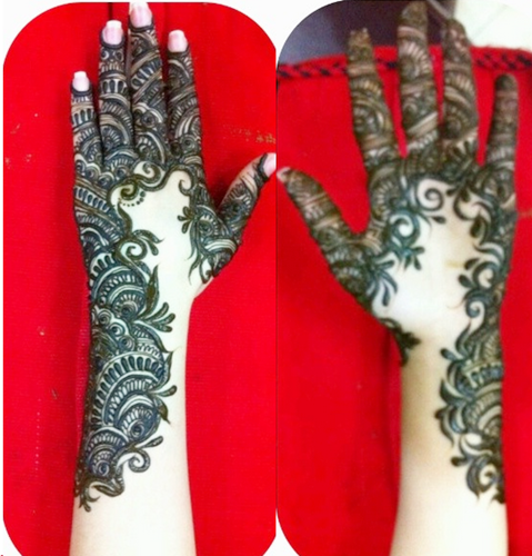 mehendi designs from uae khaleeji henna collection for