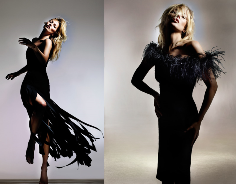 Kate Moss by Nick Knight for Topshop Collection