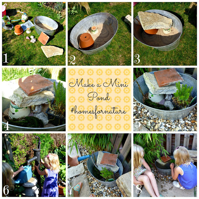 How to make a mini pond RSPB #homesfornature
