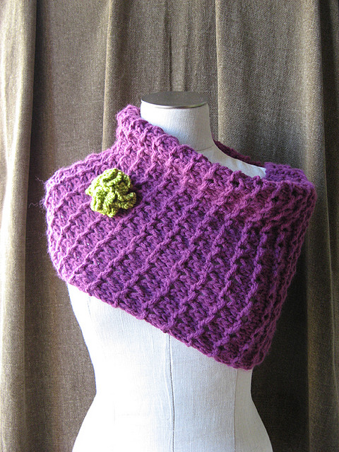 Knitting Patterns Free: cowl knitting pattern