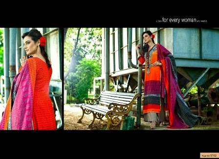 Khaddar-Exclusive-Mid-Summer-Dresses-2013