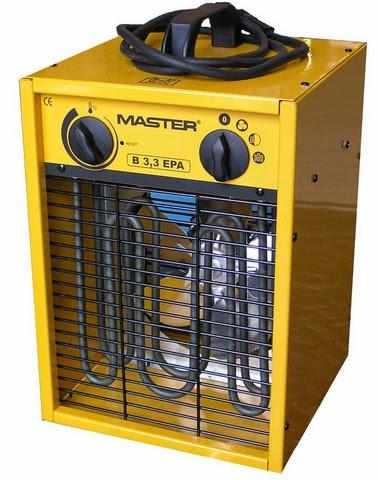Master elektromos hőlégfúvó