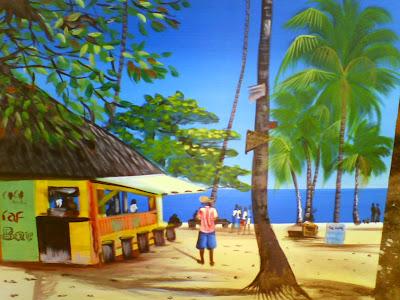 Haitianarts plage Playa Grande Las Galeras