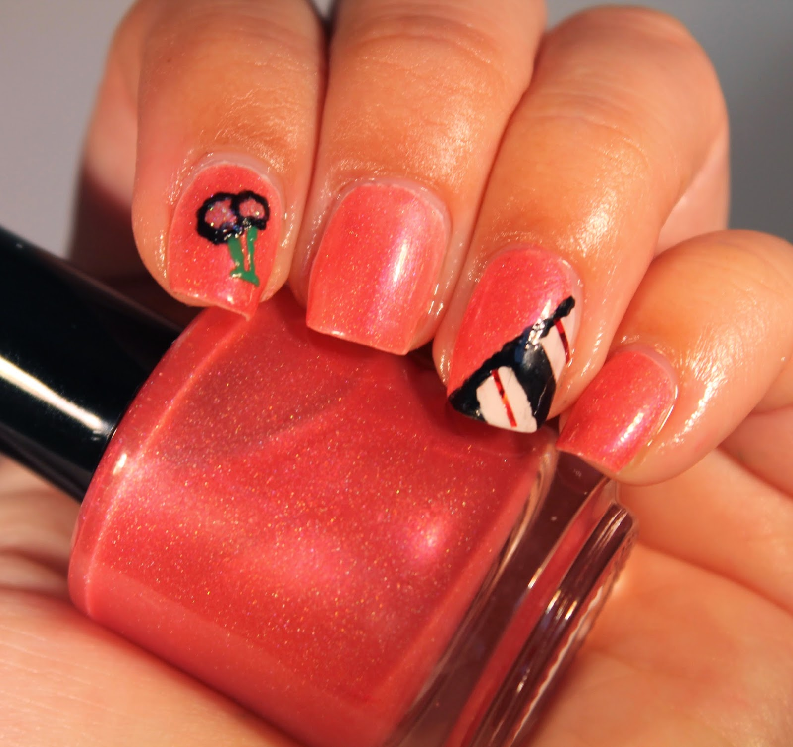 Finger Lickin Lacquer Cherry Pie Scented nail polish