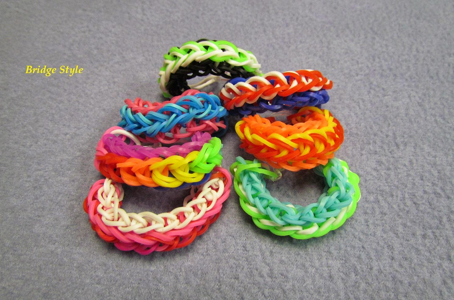 bridge loom bracelet