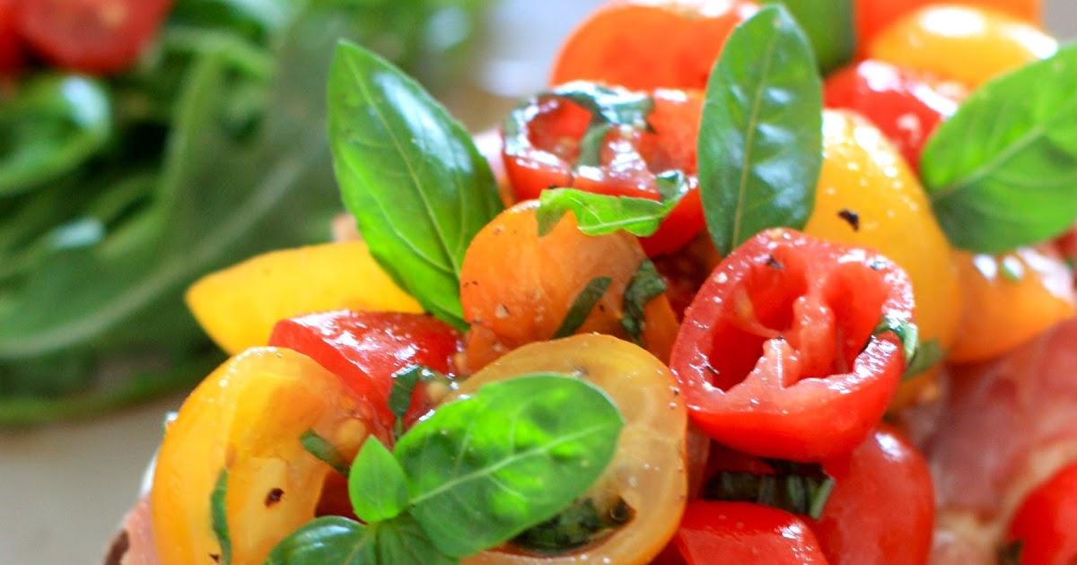 La pose gourmande bruschetta aux tomates - Recette de jamie oliver sur cuisine tv ...