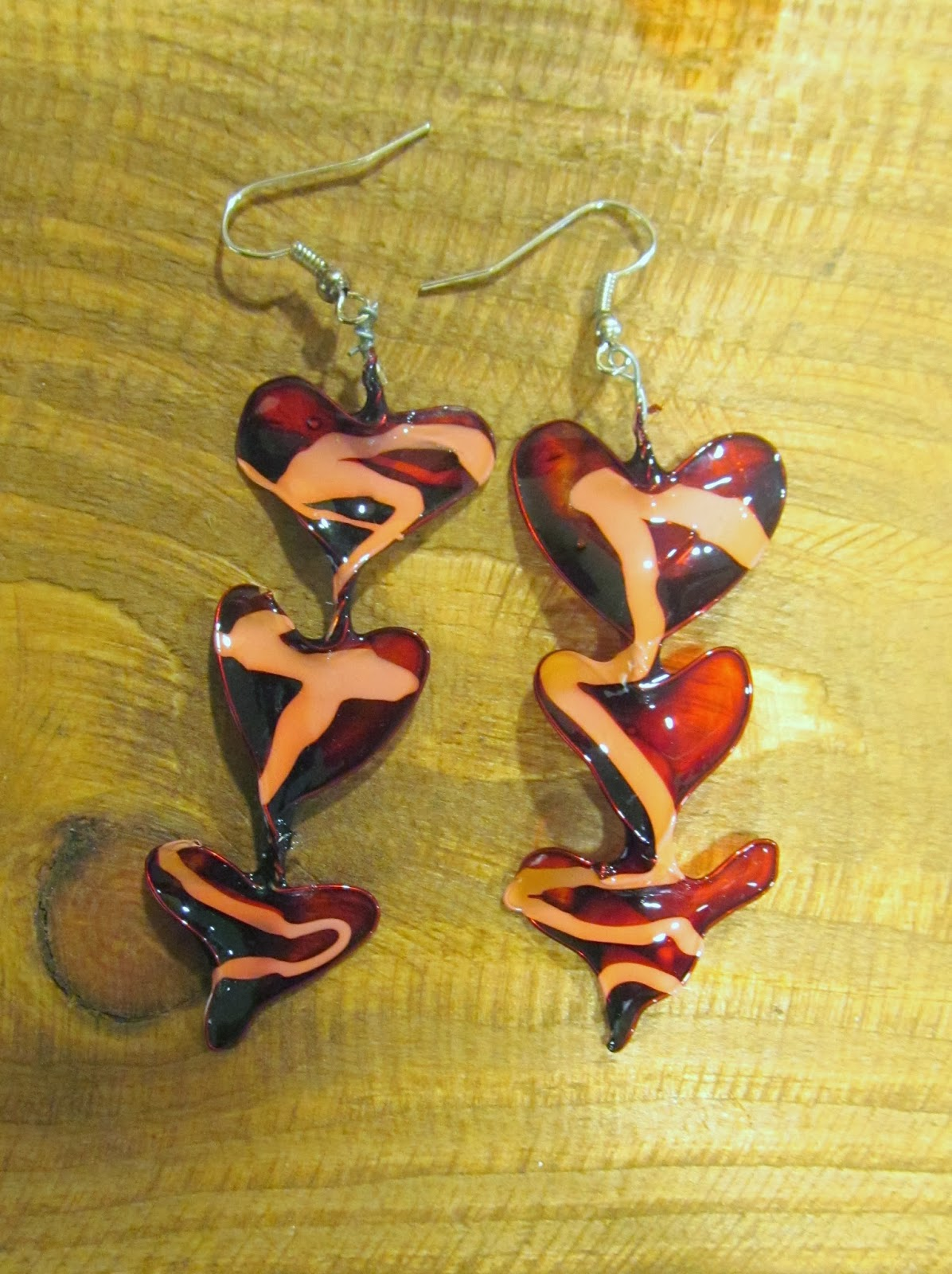 Earrings by Fantasy Trinkets at Bird's Yard, Sheffield