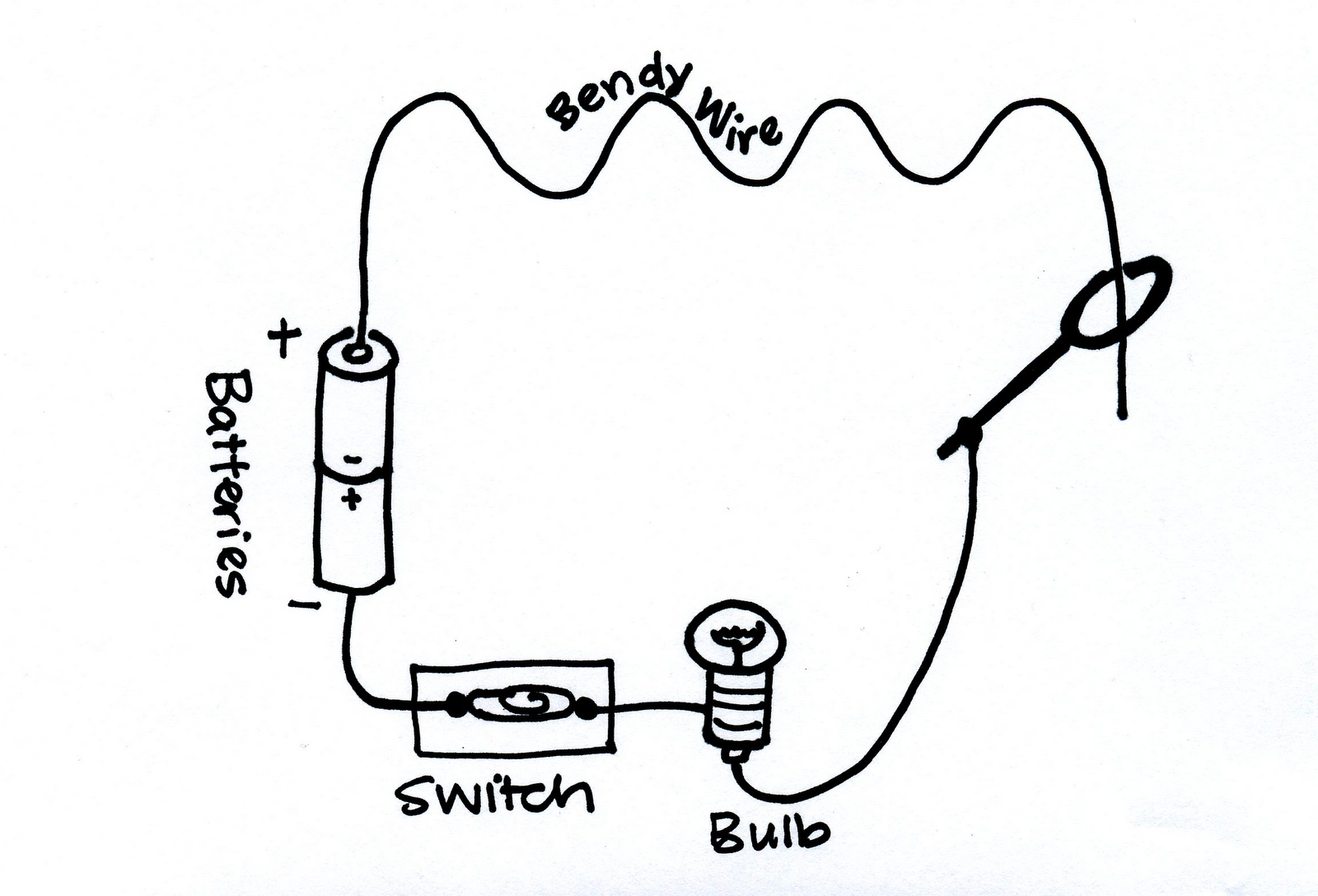 light bulb symbol circuit diagram