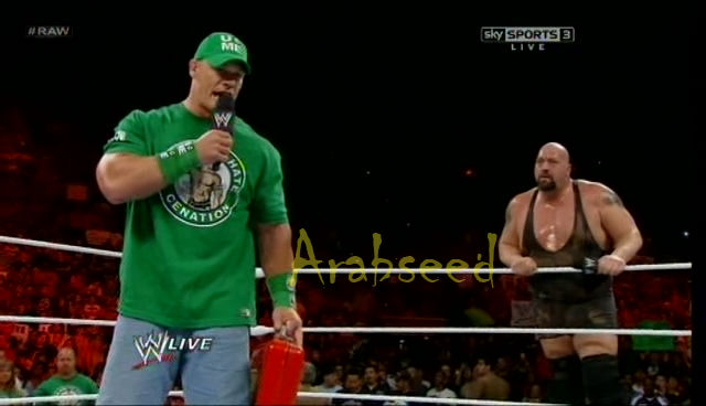 WWE Monday Night Raw 16/7/2012