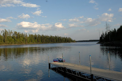 Oz Lake Lodge, south of Pickle Lake, Ontario