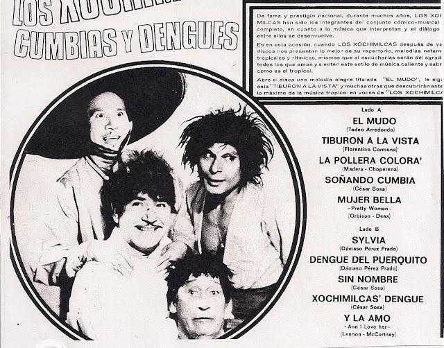 Los Xochimilcas Cumbias Y Dengues