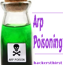 ARP poisoning attack