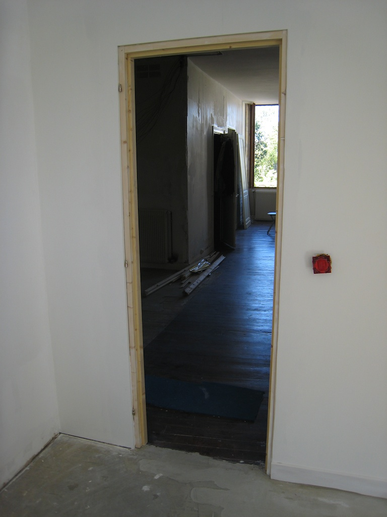 Notre maison en cours de rénovation: avril 2011