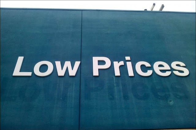 Walmart Raised Its Low Prices, funny walmart sign, funny store sign