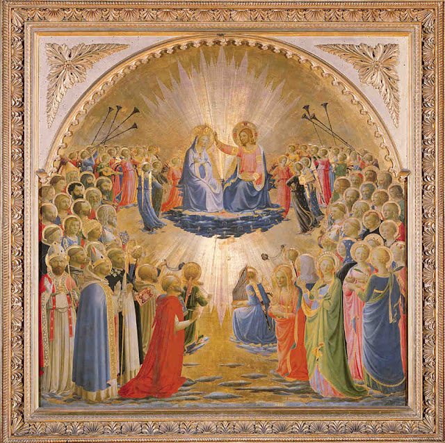 Fra Angelico, Le Couronnement de la Vierge, Galleria degli Uffizi, Florence, © 2010. Photo Scala, Florence - courtesy of the Ministero Beni e Att. Culturali