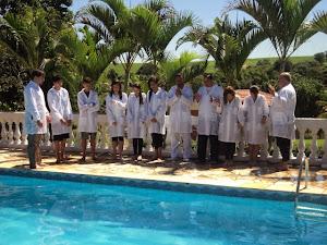 Fotos - Batismos nas águas