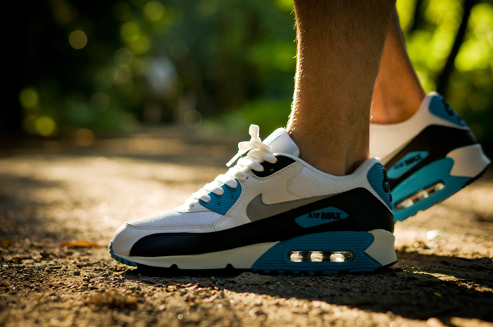 Nike air max 90 hyperfuse on feet