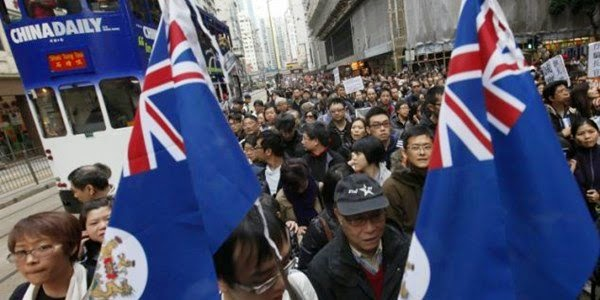 "HONG KONG: ""We are not Chinese"""