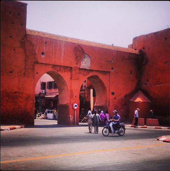 City Walls, Marrakech