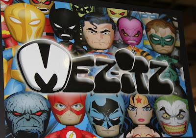 DC Universe Mez-Itz Vinyl Figures by Mezco Toyz
