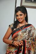 Syamala glamorous photos in saree-thumbnail-12