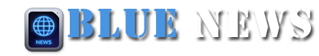 Blue News Blogger Template