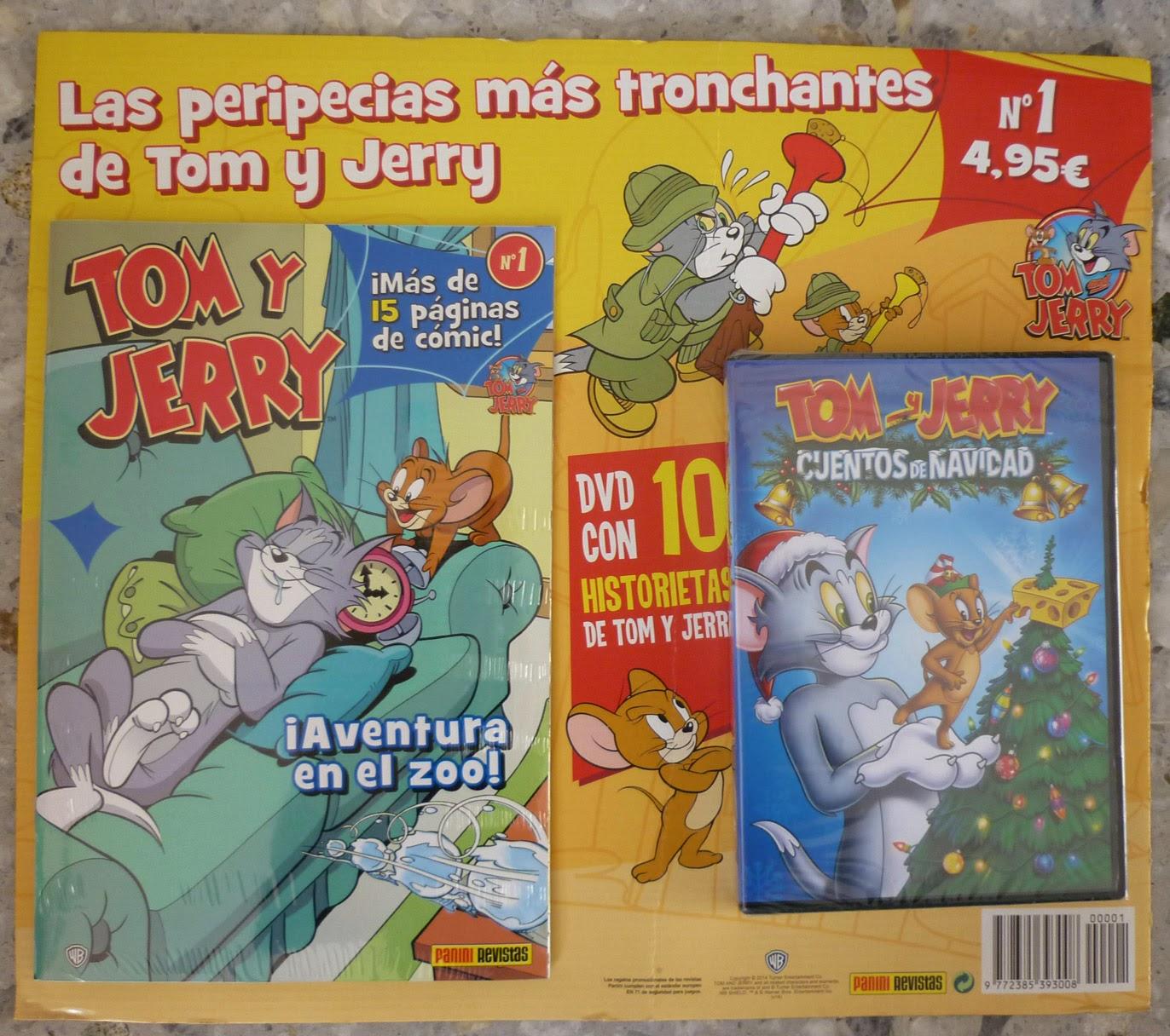 Tom y Jerry nº1 (Óscar Martín) (Panini Revistas) | Guía del Cómic