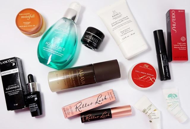 Aufgebrauchte Kosmetik - Januar 2016 (Gesicht)