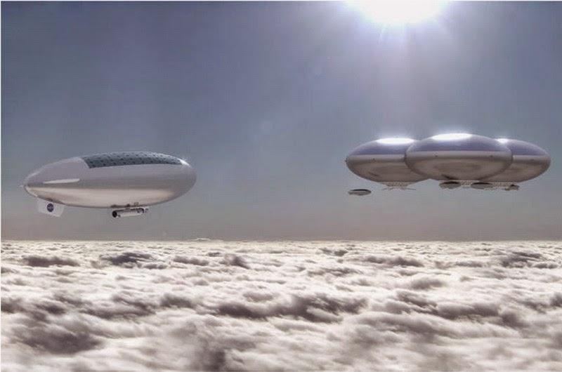 NASA Siapkan Kota Terapung Di Planet Venus