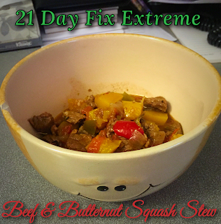 21 Day Fix Extreme Beef and Butternut Squash Stew