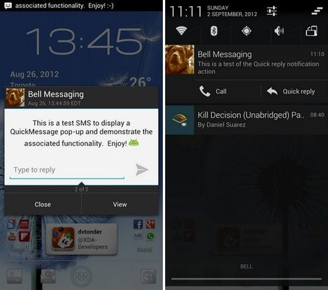 new sms feature on cyanogenmod 10