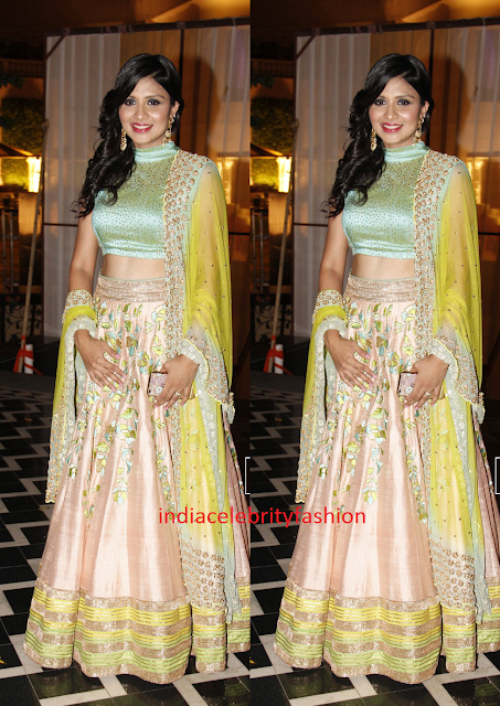 Beautiful Pastel Lehenga design