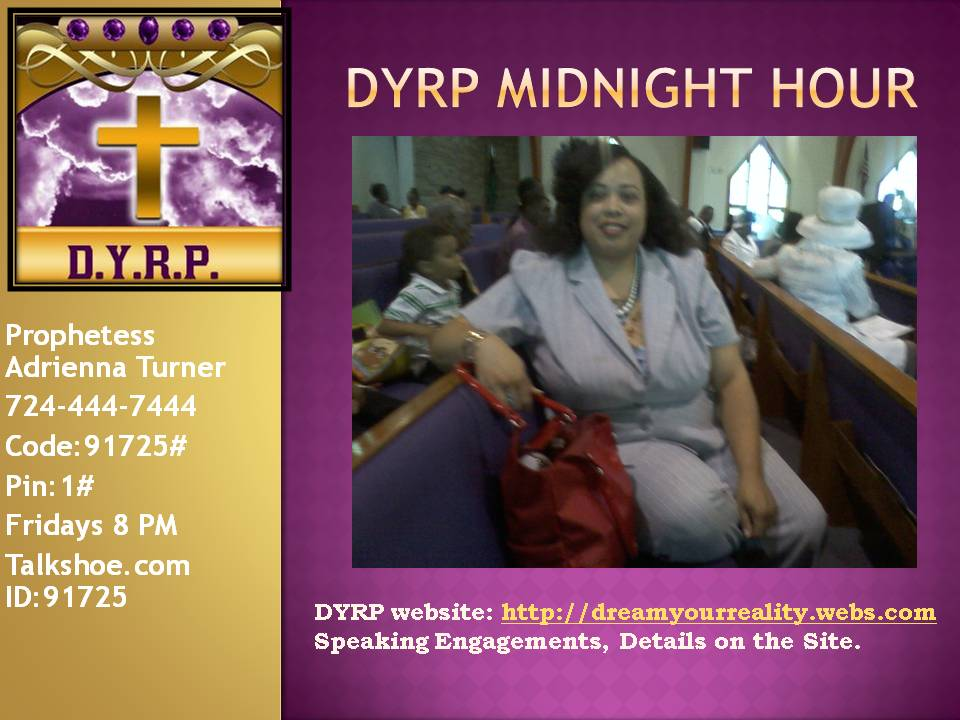 Dream Your Reality Prophecies (DYRP)