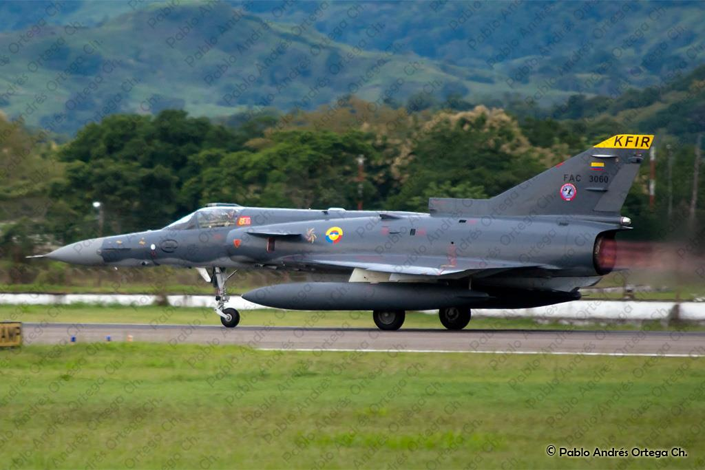 Colombian Armed Forces. Kfir+C10+colombia10