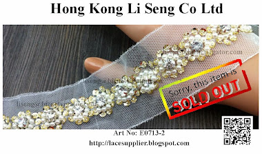 Beading Organza Manufacturer Wholesaler and Supplier - Hong Kong Li Seng Co Ltd