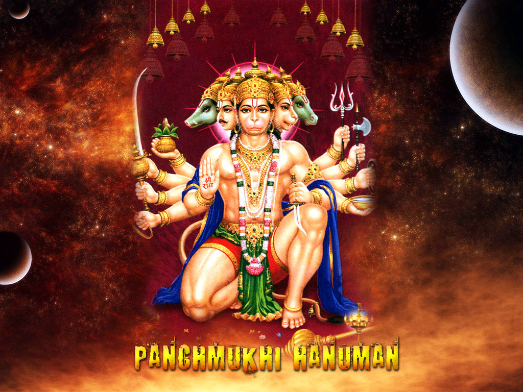 jay swaminarayan wallpapers panchmukhi hanuman hd wallpaper