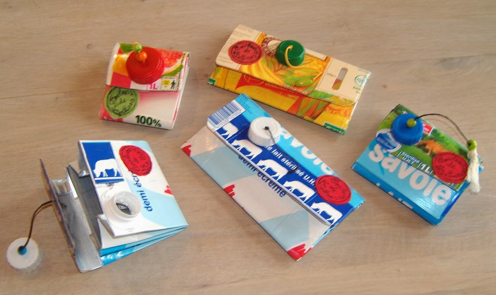 Bien-aimé Couleurs De Lettres: Nouveauté Recyclage des briques de lait, de  PT42