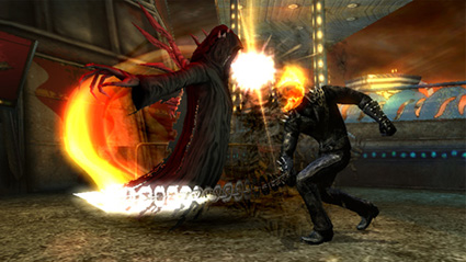 ghost rider juego video: