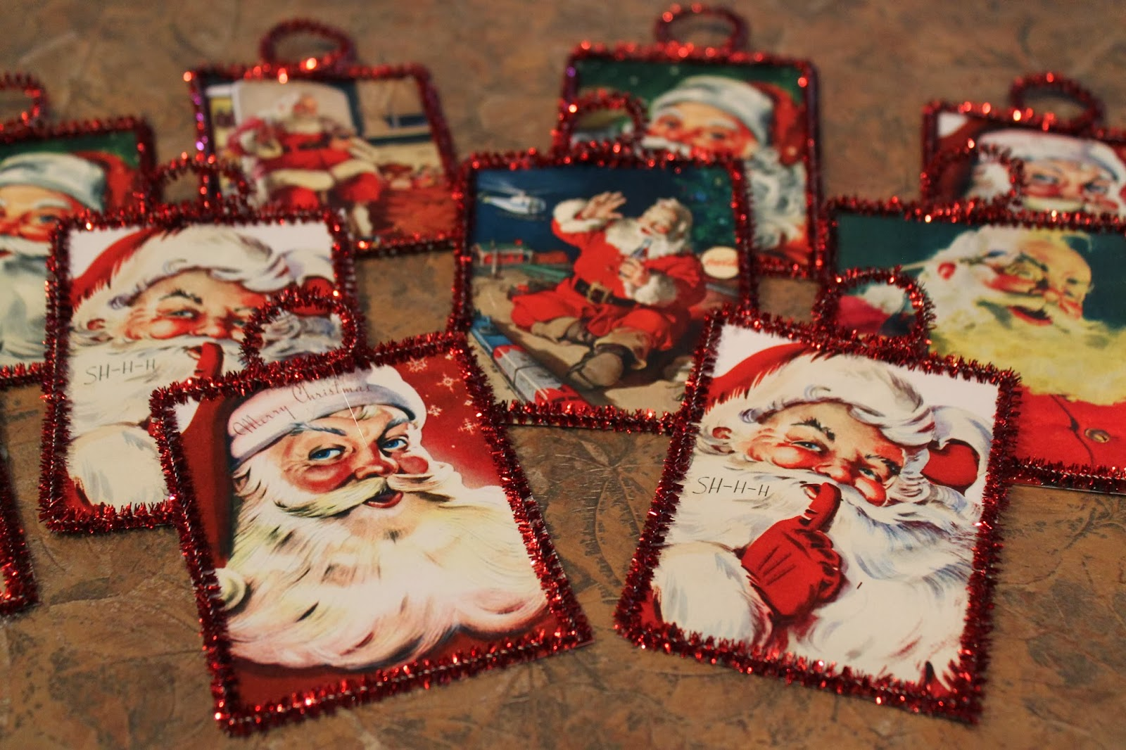 Old fashioned christmas ornaments to make 70