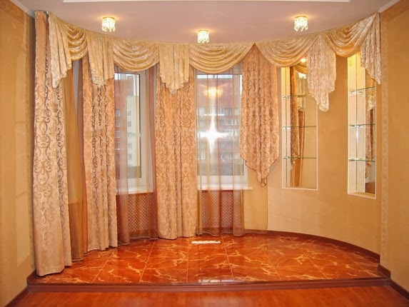 Curtains For The Living Room With Horizontal And Vertical