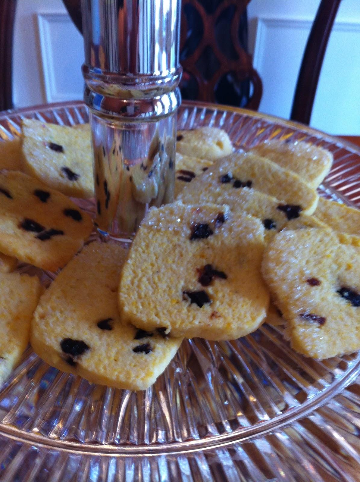 Regina Biscotti: Cornmeal-Cherry Cookies