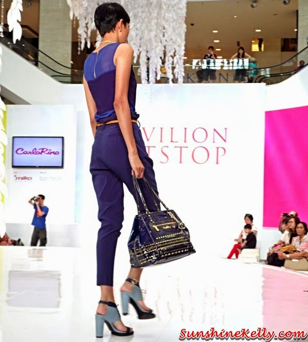 Carlo Rino Spring Summer 2014 Collection, Carlo Rino Spring Summer 2014, Carlo Rino, Handbag, Shoes, Pavilion Pitstop Fashion Show, Pavilion Pitstop, Fashion Show, Fashion Trend, cut out for love